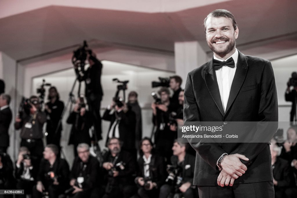 Pilou Asbaek walks the red carpet ahead of the 'TWoodshock' screening during the 74th Venice Film Festival at Sala Giardino on September 4, 2017 in Venice, Italy.