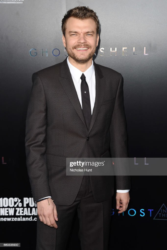 Pilou Asbæk attends the 'Ghost In The Shell' premiere hosted by Paramount Pictures & DreamWorks Pictures at AMC Lincoln Square Theater on March 29, 2017 in New York City.
