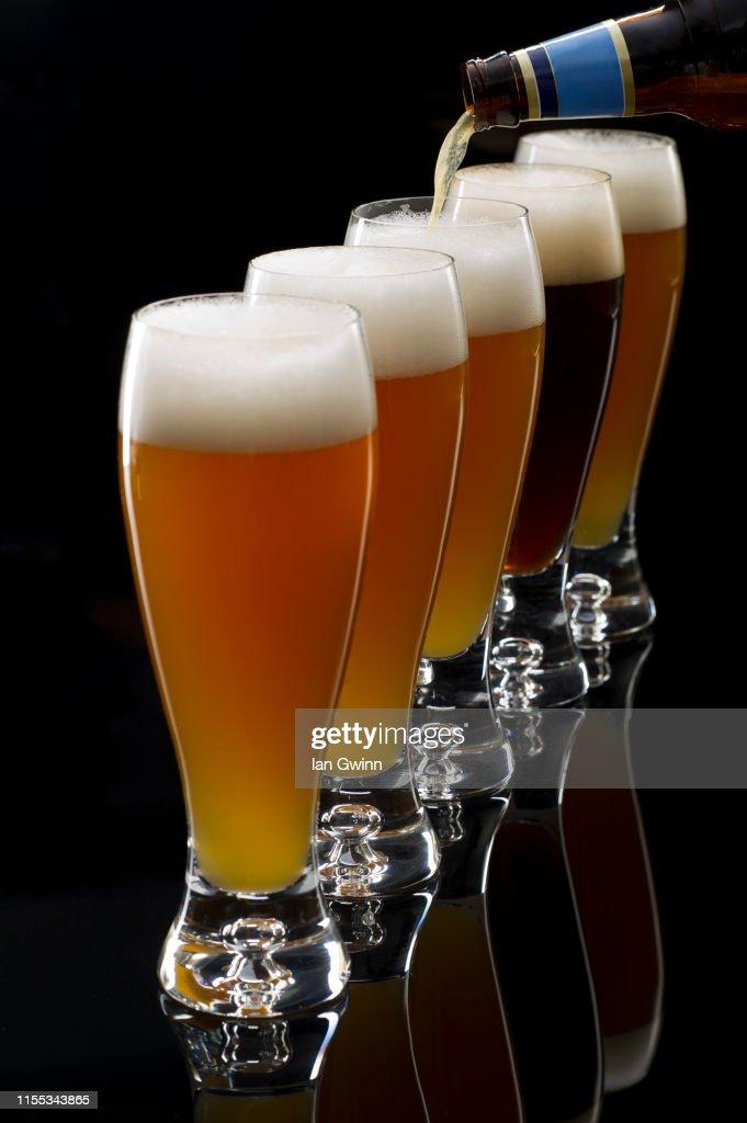 Pilsner Beer : Stock Photo