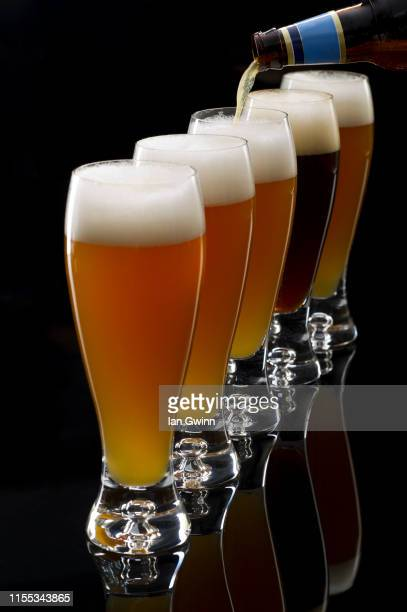 pilsner beer - ian gwinn stock pictures, royalty-free photos & images
