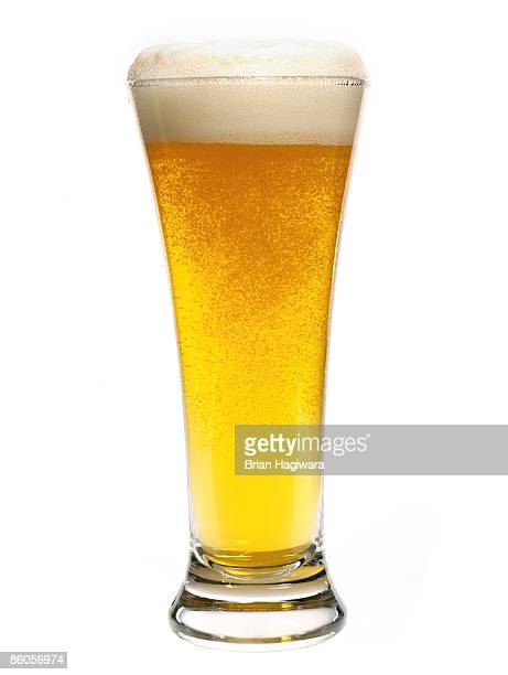 Pilsner glass of beer