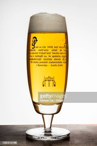 pilsner urquell beer - pilsner stock photos and pictures