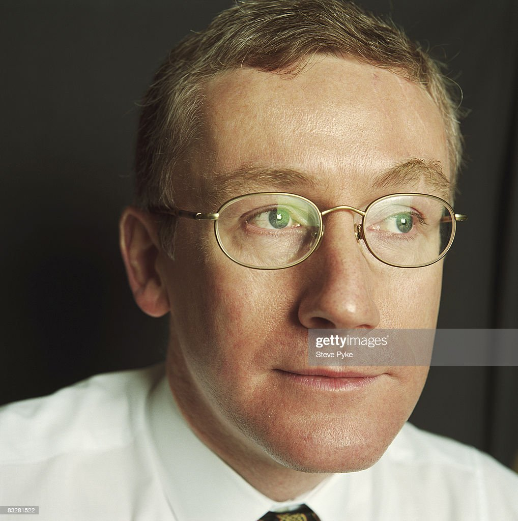 CEO of Royal Bank of Scotland Fred Goodwin poses for a portrait shoot in Edinburgh, UK.