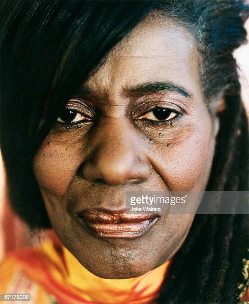 Musician Alice Coltrane poses for a portrait shoot in London UK