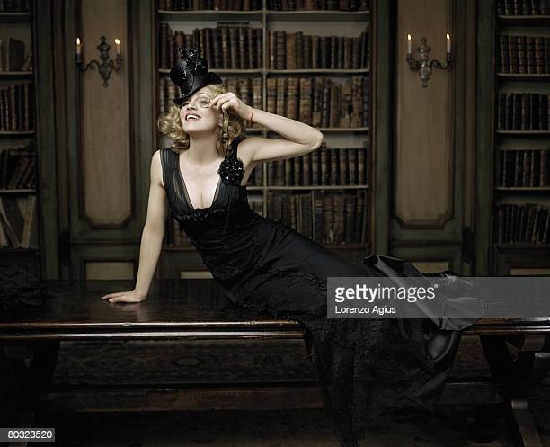 Singer and Actor Madonna poses for a portrait shoot in London