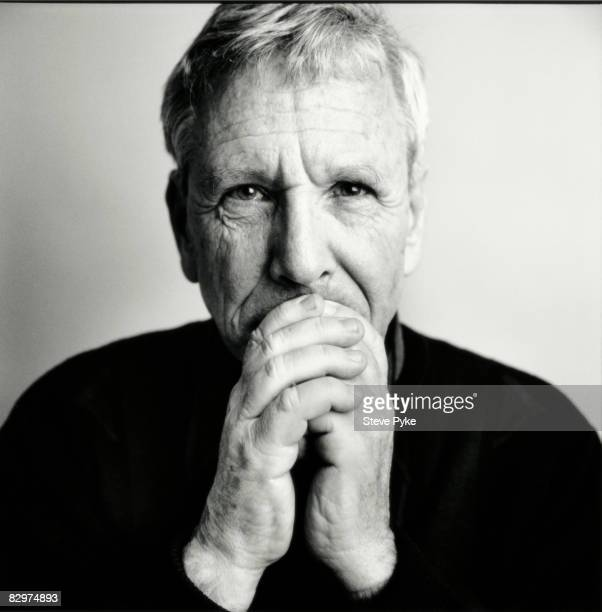 Author Amos Oz poses for a portrait shoot in New York, USA.