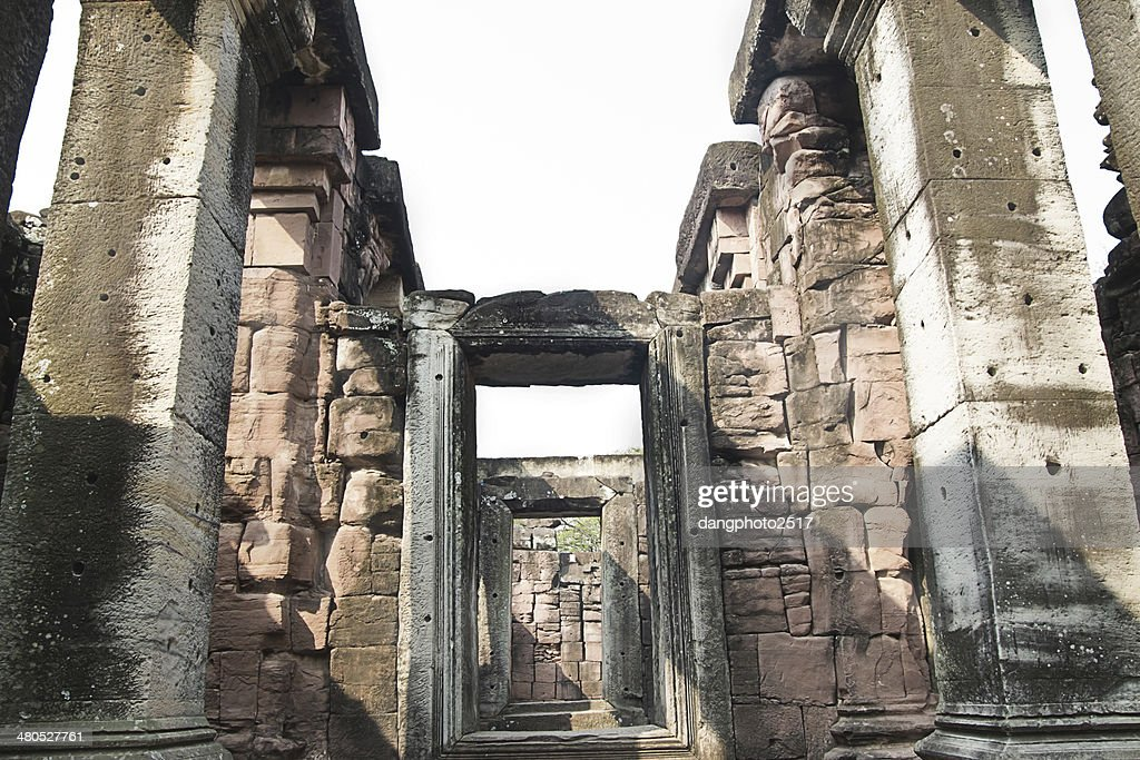 Pimai ancient city, Thailand : Stock Photo