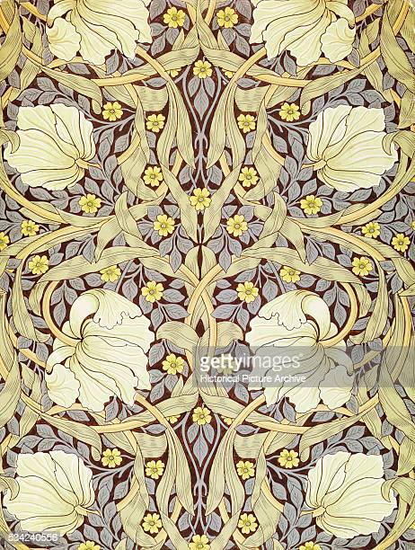 Pimpernell Wallpaper Design by William Morris
