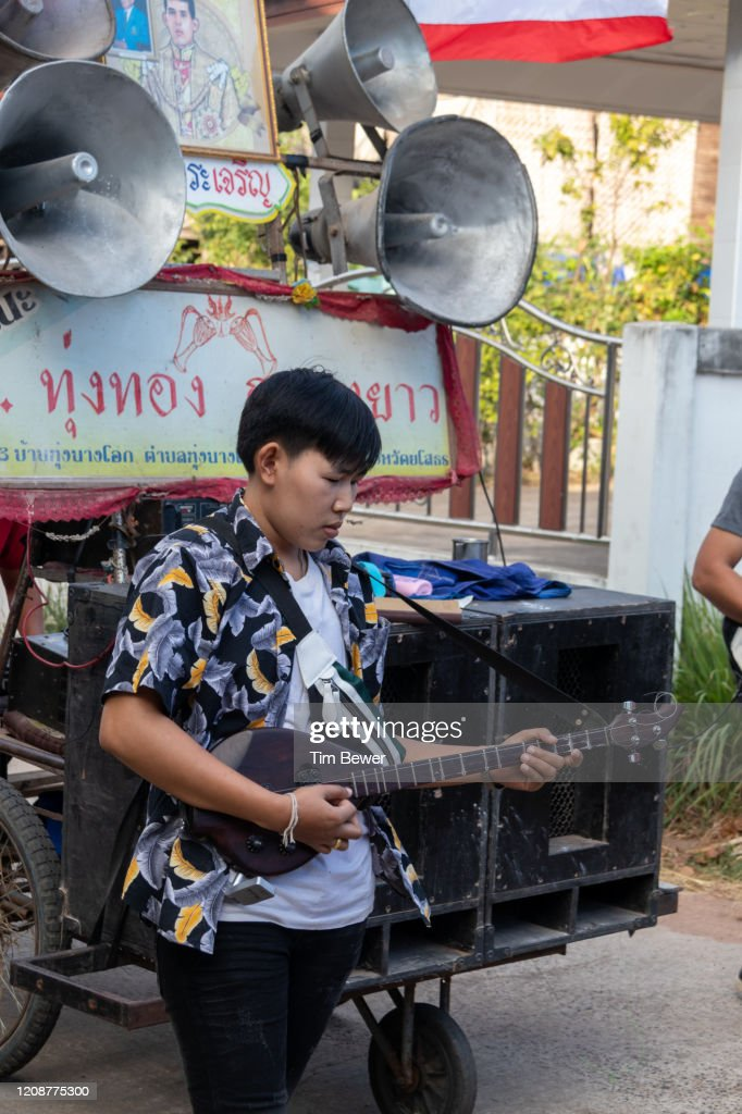 Pin player in a parade : Stock Photo