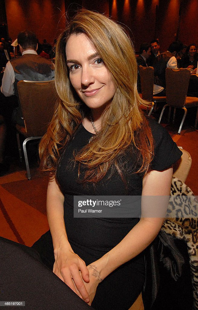 Pin Up Girl Clothing owner Laura Byrnes attends Mittens for Detroit's 4th annual night of Giggles and Gloves at MGM Grand Hotel on January 25, 2014 in Detroit, Michigan.