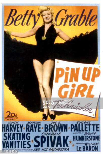 Pin Up Girl poster Betty Grable 1944
