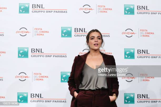 Pina Turco attends the Il Vizio Della Speranza photocall during the 13th Rome Film Fest at Auditorium Parco Della Musica on October 19 2018 in Rome...