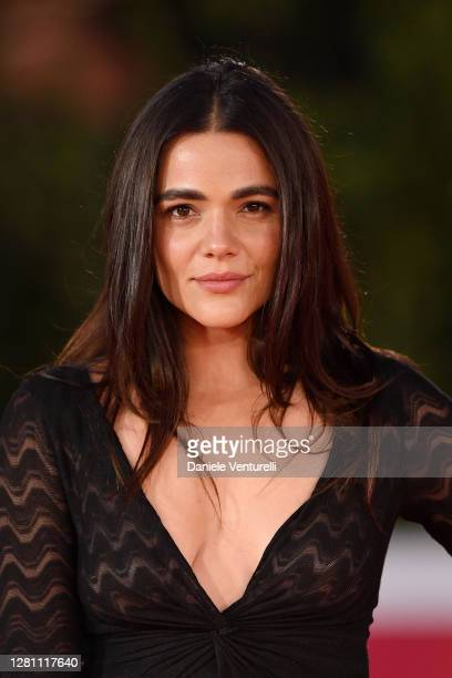 "Pina Turco attends the red carpet of the movie ""Fortuna"" during the 15th Rome Film Festival on October 19, 2020 in Rome, Italy."