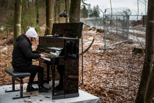 DEU: Igor Levit Plays For Dannenroder Forest Activists