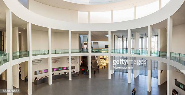 Pinakothek der Moderne (Museum), the courtyard