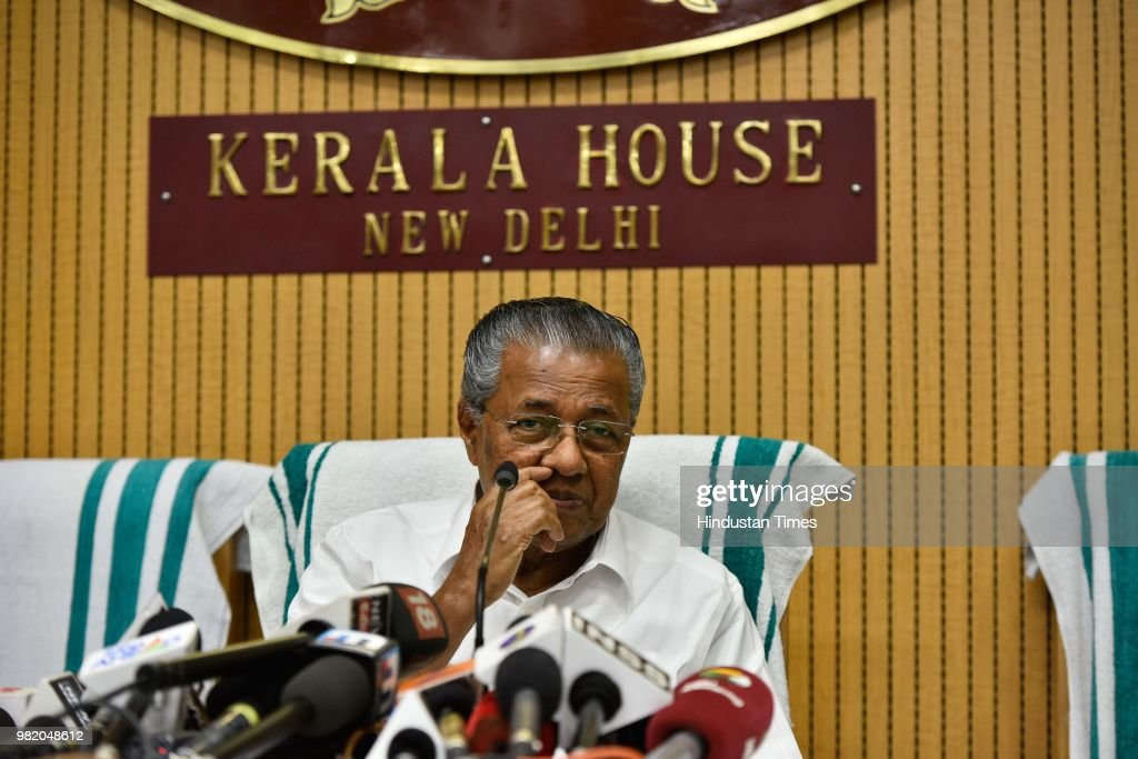 Kerala CM Pinarayi Vijayan Addresses A Press Conference On The Completion Of Two Years By His Government
