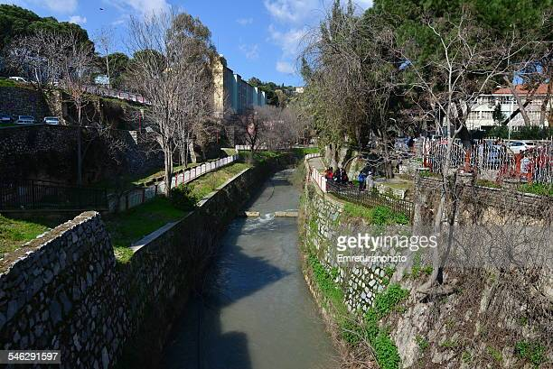 pinarbasi creek in aydin - emreturanphoto stock pictures, royalty-free photos & images