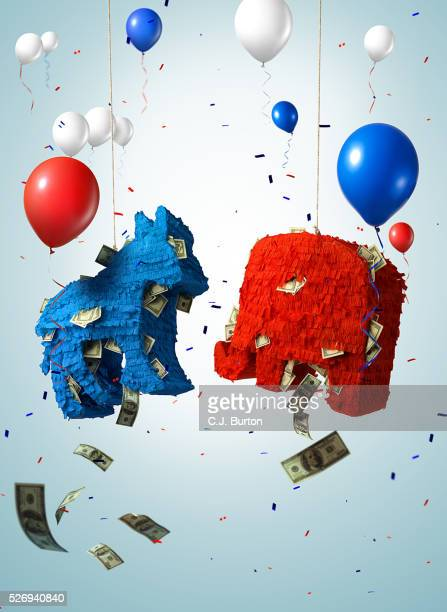 pinatas - political party stock pictures, royalty-free photos & images
