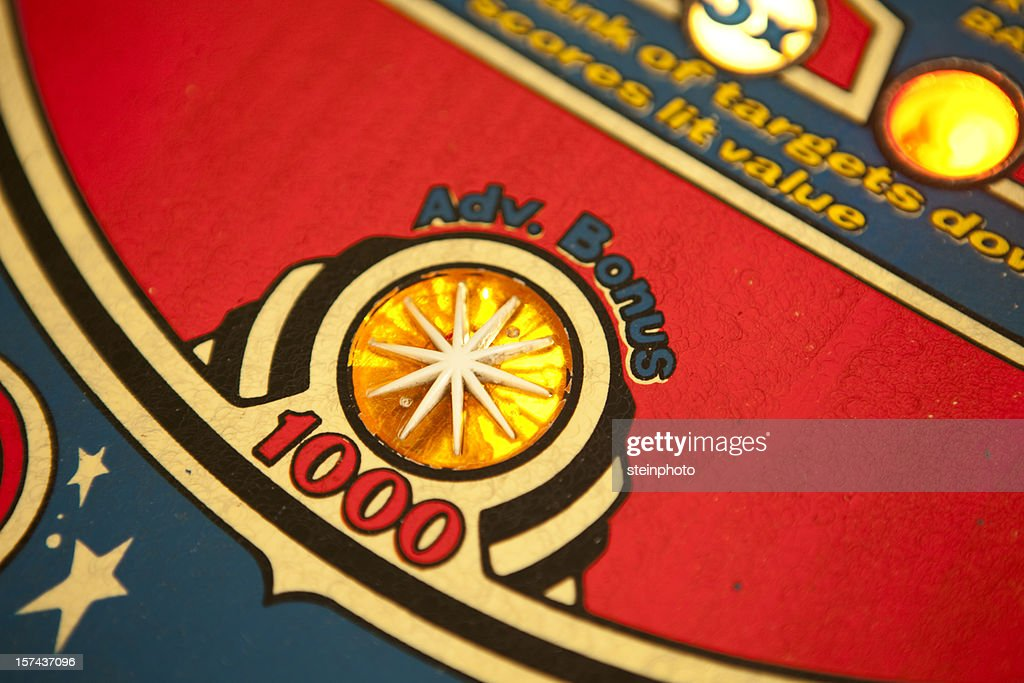 Pinball Bonus : Stock Photo