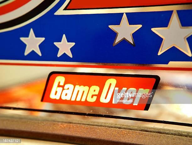 Pinball Game Over