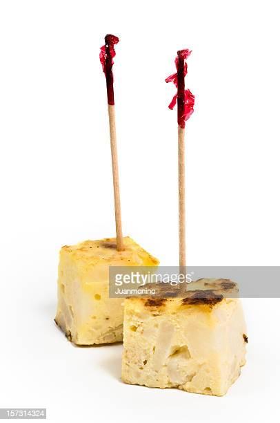 Pinchos de Tortilla (omelette espagnole