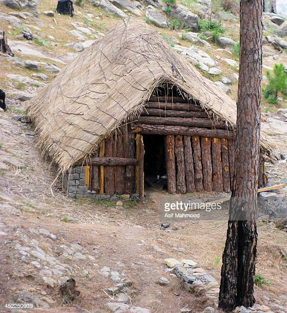 Pine hut located in the Pine forest at Ban Karore near Islamabad.