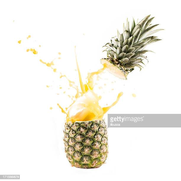 Pineapple explosion juice splash