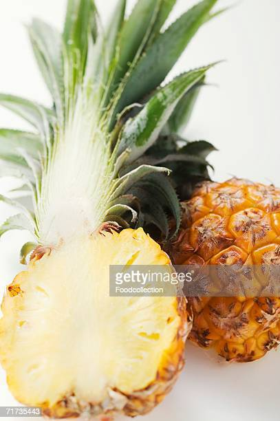 Pineapple, halved