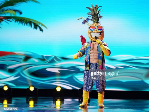 Pineapple in the New Masks on the Block episode of THE MASKED SINGER airing Wednesday Jan 9 on FOX