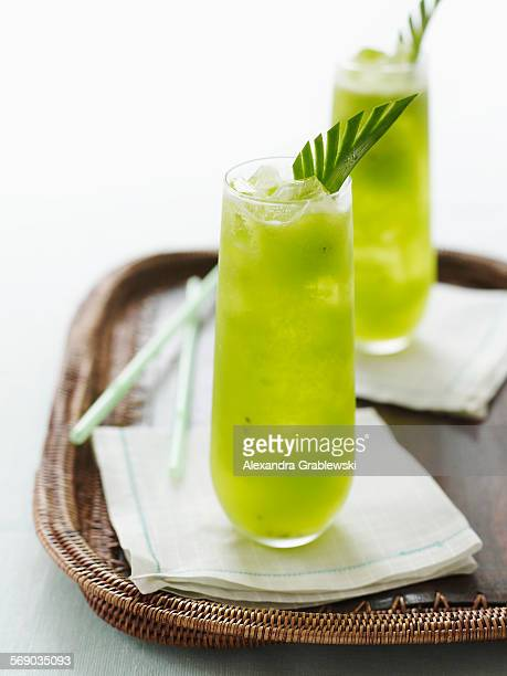 Pineapple Kiwi Cocktail