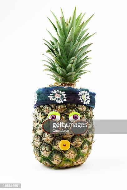 Ananas-Porträt