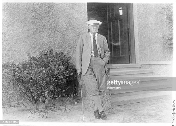"""Pinehurst, N.C.: """"Pop"""" H.C. Fownes of Pittsburgh, Pa., father of the former National Champion W.C. Fownes and C.B. """"Chick"""" Fownes and uncle of Miss..."""