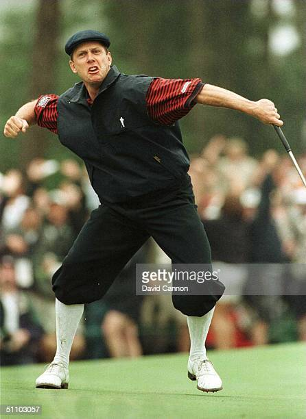 Pinehurst North Carolina Payne Stewart Of The Usa Celebrates Winning The1999 Us Open Championship Played At Pinehurst Resort And Golf Club Pinehurst...
