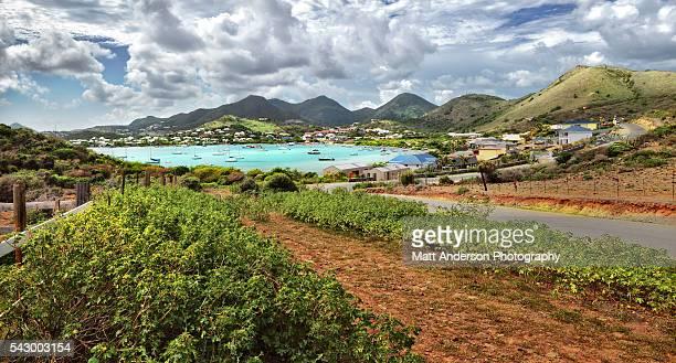 pinel island pinel bay saint martin sint maarten caribbean - big island hawaii islands stock pictures, royalty-free photos & images