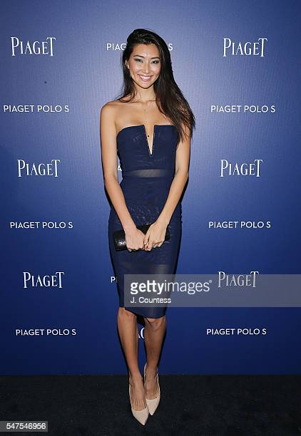 Ping Hue attends the Piaget New Timepiece Launch at the Duggal Greenhouse on July 14 2016 in New York City
