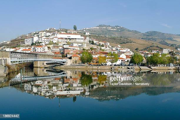 Pinhao, Portugal over Douro Valley