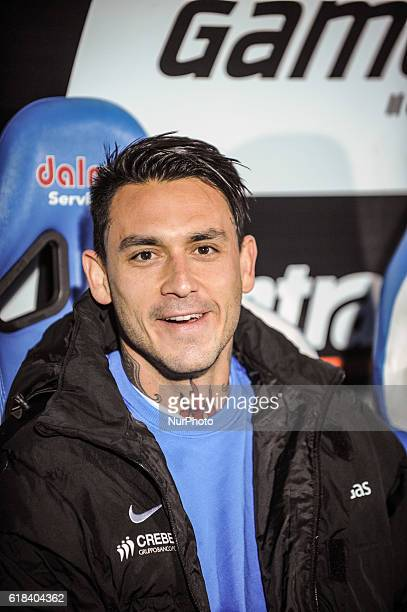 Pinilla Mauricio during the Italian Serie A football match Pescara vs Atalanta on October 26 in Pescara Italy