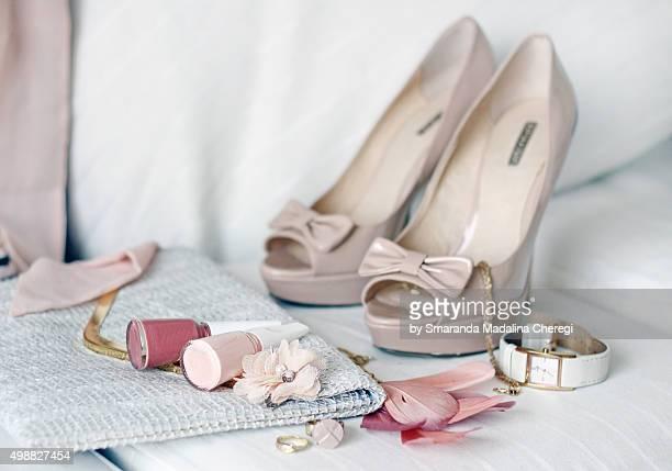 Pink accessories - women's fashion