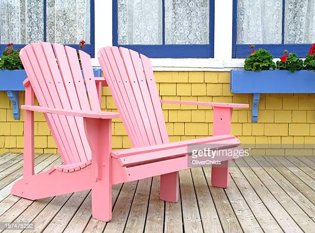 Pink Adirondak Chair.