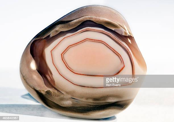 pink agate crystal healing stone - agate stock pictures, royalty-free photos & images