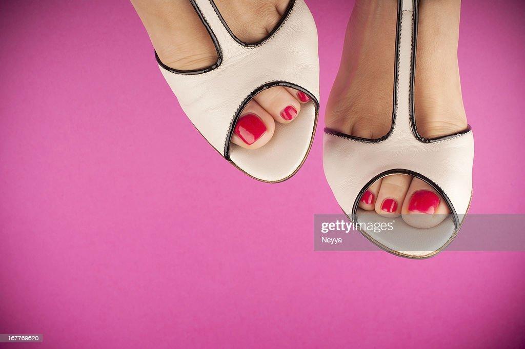 Pink & White : Stock Photo