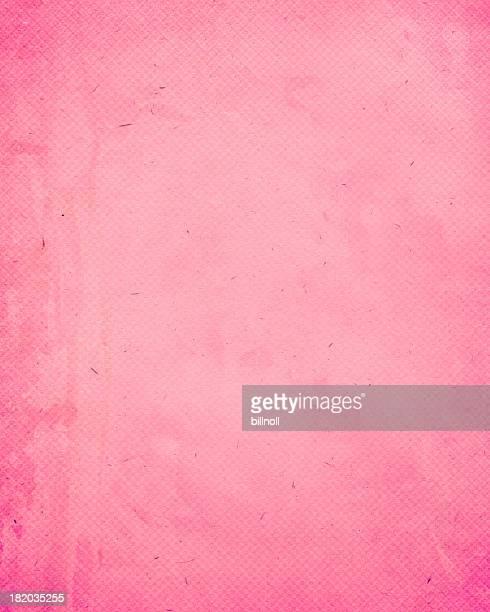 ピンクのアンティーク紙、ハーフトーン