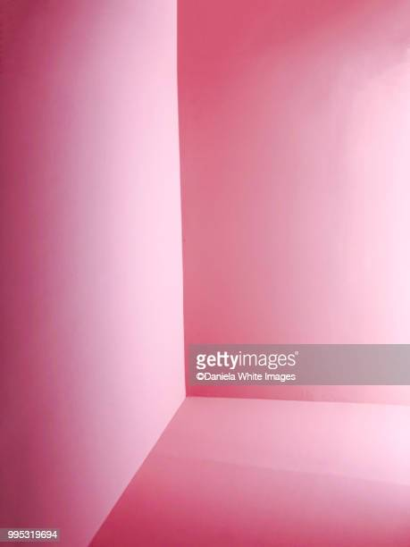 pink architectural abstract - corner stock pictures, royalty-free photos & images