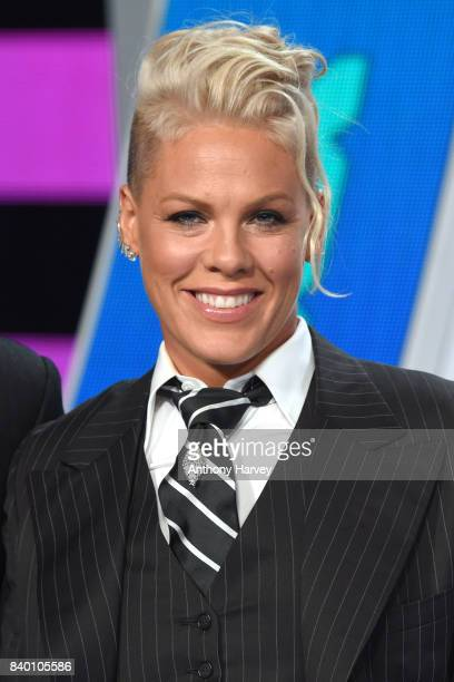 Pink attends the 2017 MTV Video Music Awards at The Forum on August 27 2017 in Inglewood California