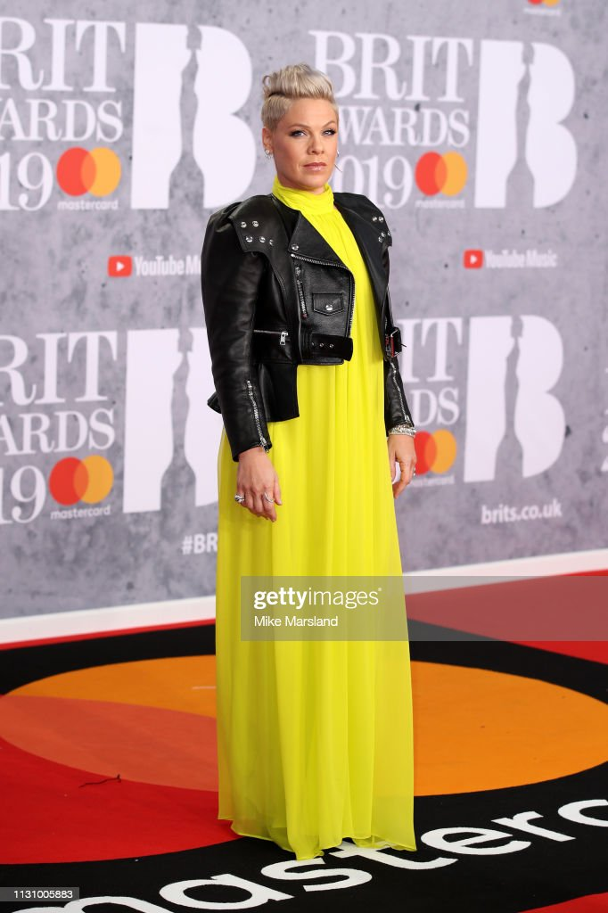 The BRIT Awards 2019 - Red Carpet Arrivals : News Photo
