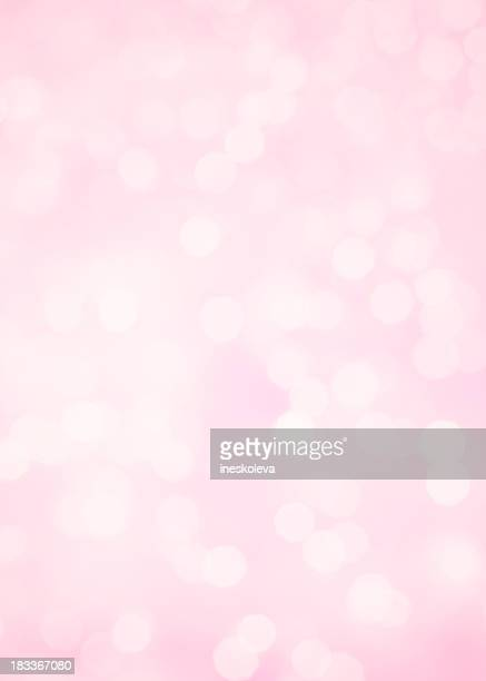 Pink background with defocused lights