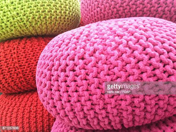 Pink ball of wool