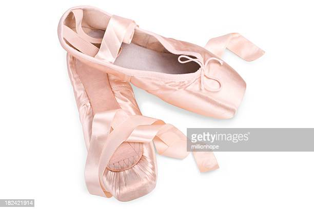 pink Ballett-Hausschuhe