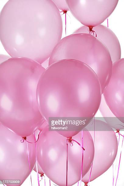 Pink Balloons Vertical