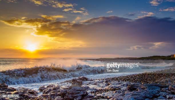 Pink Bay Sunset, Porthcawl